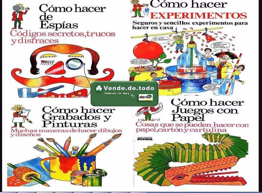 Coleccion 12 Libros Como Hacer Juegos Experimentos Ninos Bs 17 37