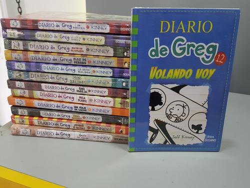 colección-13 libros diario de greg +jenga regalo