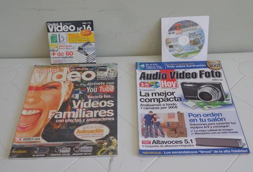 colección _ 17 revistas pc actual + dvd, y otras revistas pc