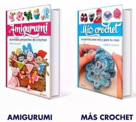 Colección 2 Libros Amigurumi - Mas Crochet - Planeta