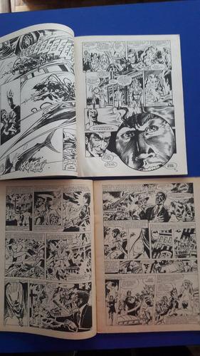 coleccion  2 revistas comics dossier negro