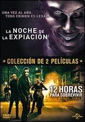 coleccion 3 dvd la purga - 12 horas para sobrevivir original