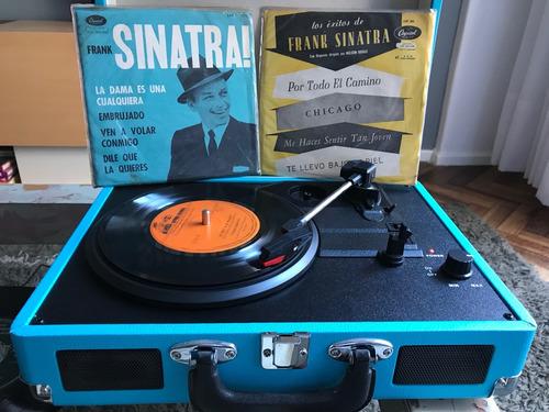 colección 3 vinilos frank sinatra 45 r.p.m  ver video