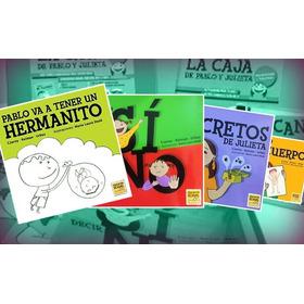 Colección 4 Libros De Pablo Y Julieta - Chicos.net Ediciones
