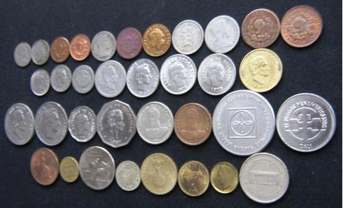 colección 40 monedas colombia lote super completo oferta