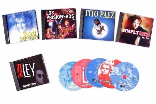 colección 5 cd's ochenteros