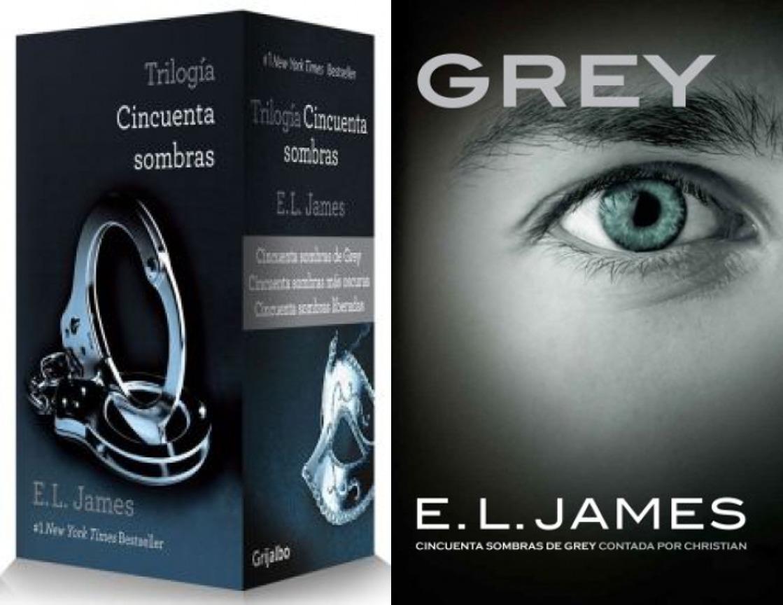 Colección 50 Cincuenta Sombras De Grey 4 Libros - Original