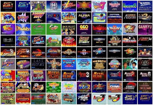 Coleccion 6000 Juegos Arcade Clasicos Mame Maquinitas 65 00 En