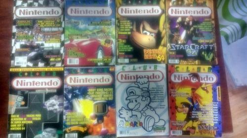 colección 73 revistas y afiches club nintendo