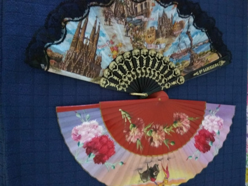 coleccion  abanicos antiguos españoles pintados a mano leer