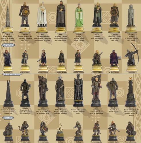 colección ajedrez \ el señor de los anillos \ nº 4 \ éomer