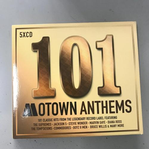 coleccion album 5 cd r&b rythm blues 100 motown anthems umc