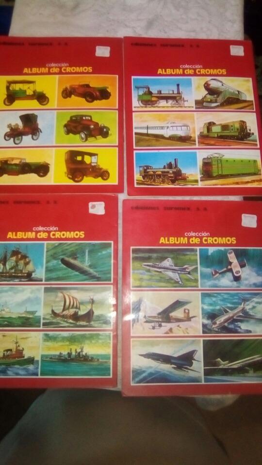 coleccion album de cromos 4 albunes 799 00 en mercado libre