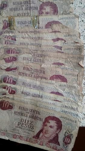 coleccion antiguos billetes pesos argentinos 1935