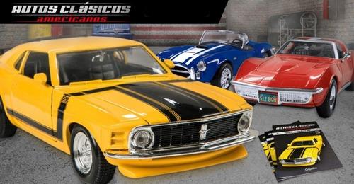 colección autos clásicos americanos -nacion-4-5-13-15-16-22