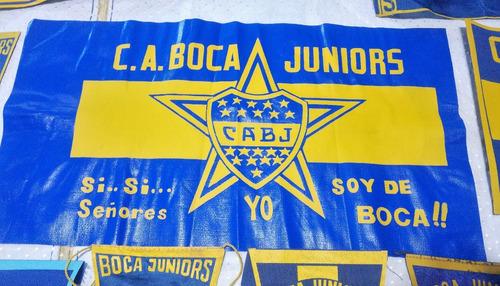 coleccion banderines banderas museo retro boca juniors  bj01