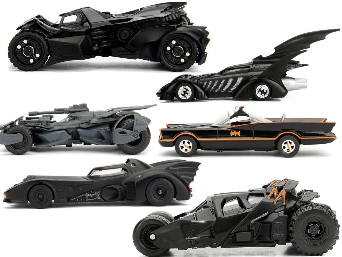 e78a2d577 Colección Batimovil X6 Piezas Carro Batman Escala 1 /32 Jada ...