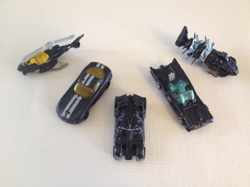 coleccion batman 5 hot wheels
