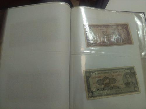 colección billetes colombia