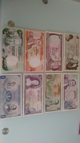 coleccion billetes colombia