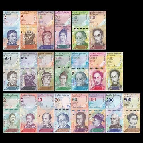 coleccion billetes de venezuela maduro chavez nuevos #1