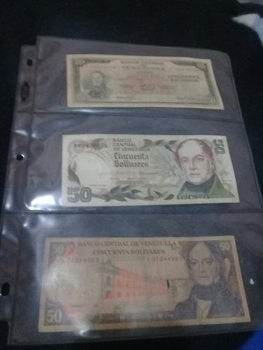 colección billetes venezolanos