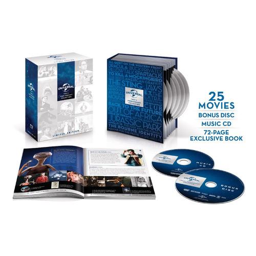 colección blu-ray universal studios 25 películas 100 años