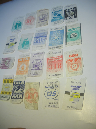 coleccion boletos de micro santiago (20)