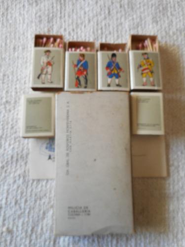 colección cajas fósforos