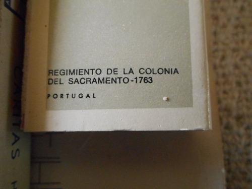 colección cajas fósforos colonia del sacramento soldados epo