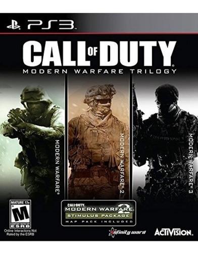 colección call of duty modern warfare - playstation 3