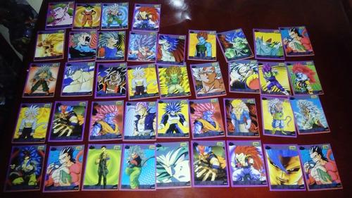 colección cards tarjetas dragon ball trivia