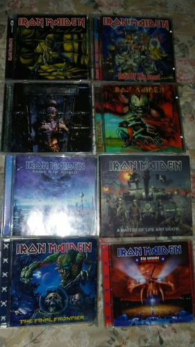 coleccion cds. de iron maiden