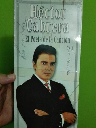 coleccion cds hector cabrera el poeta de la canción