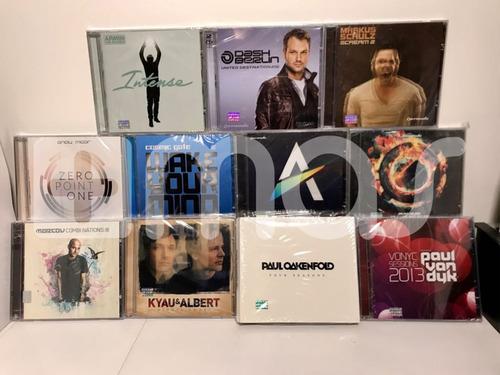 coleccion cds trance armin van buuren markus schulz paul