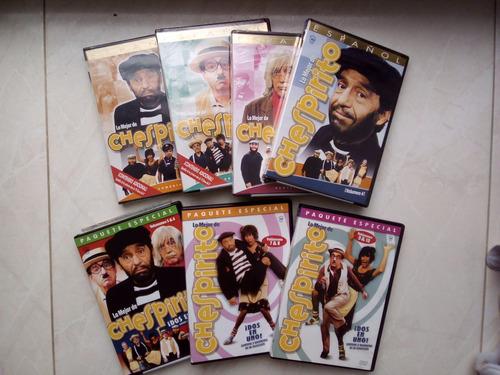 colección chespirito 5 películas en 2 dvd original + 10 dvd
