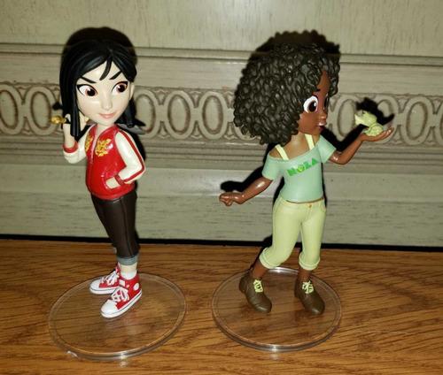 coleccion comfy princess rock candy figuras wifi ralph break