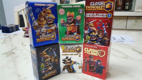 coleccion completa clash royale pack x 6 mazos originales