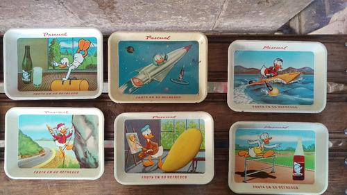 colección completa de charolas pascual boing años 60s