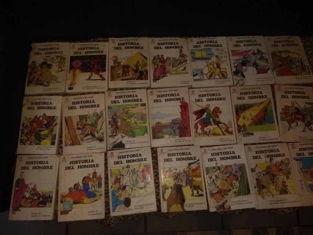 colección completa de  la historia del hombre  52 libros