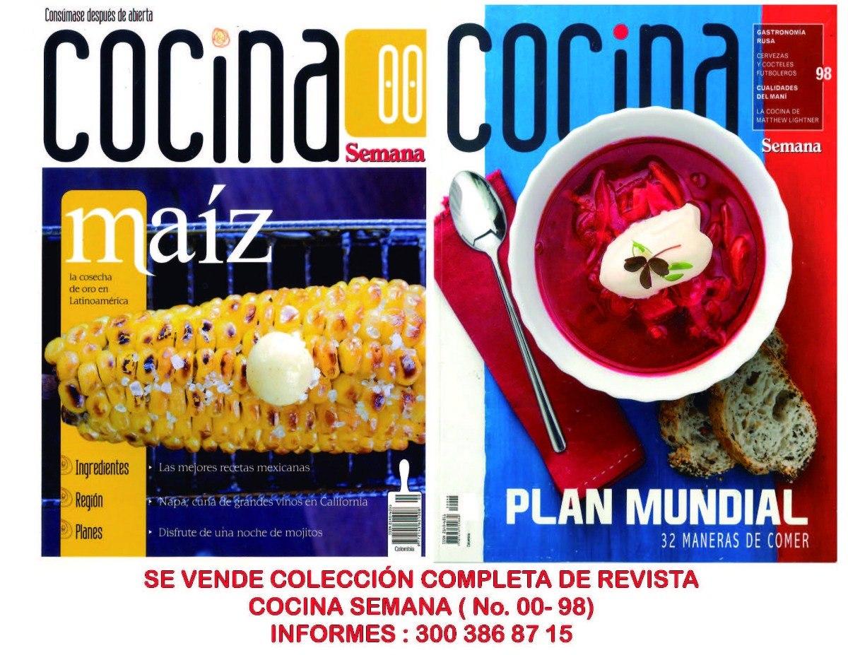 Coleccion Completa De Revistas Cocina Semana 99 Revistas 1 900