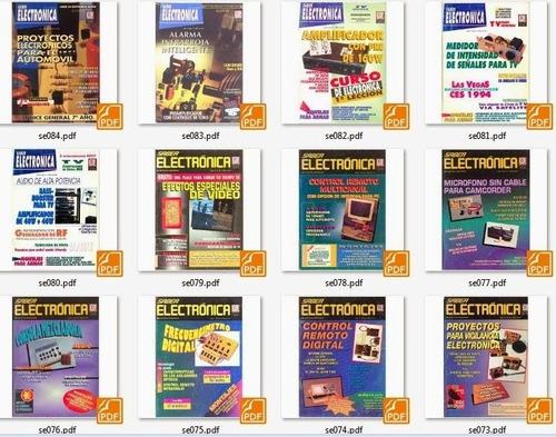 colección completa de revistas saber electrónica