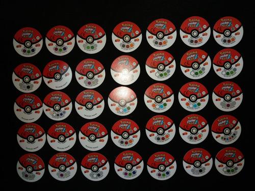 coleccion completa de stickers taps/tazos pokemon