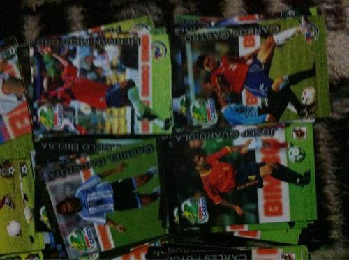 colección completa de tarjetas bimbocards del mundial 2002