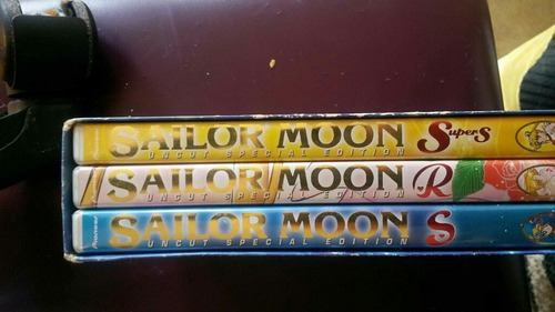 coleccion completa dvd sailor moon original edicion especial