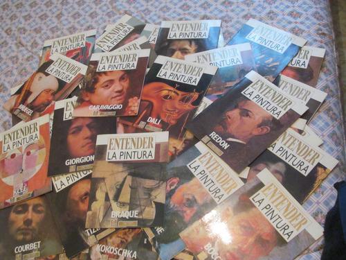 coleccion completa  entender la pintura  (80 revistas)