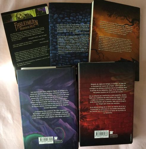 colección completa fablehaven fantasía juvenil importado