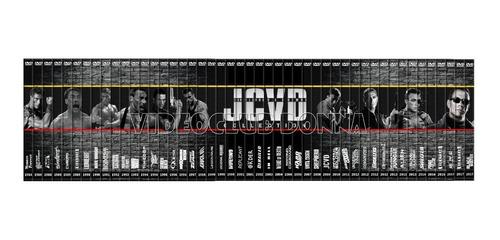 coleccion completa jean claude van damme dvd 47 peliculas