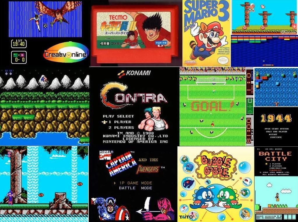 Coleccion Completa Juegos Nintendo Nes Para Pc Y Android