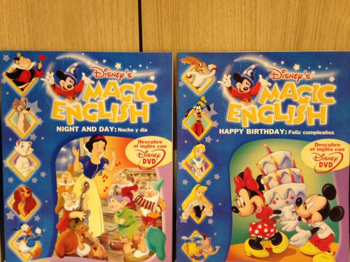 colección completa libros disney magic english